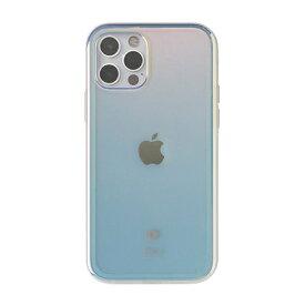HAMEE ハミィ [iPhone 12/12 Pro専用]iFace Glastonケース 41-930052 コットンキャンディ/ブルー
