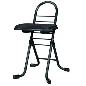 ルネセイコウ RUNESEIKOU 低座位置用 楽器演奏用椅子 黒色 PW-100