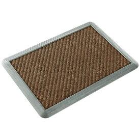 山崎産業 消毒マットシリコーン#6セット 60×90cm ブラウン 15957
