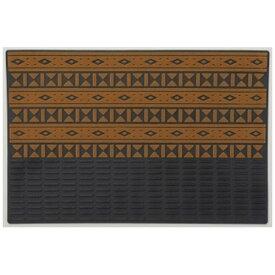 山崎産業 マイプレジャーマット アメリカン ネイティブ90×60cm ベージュ 18577