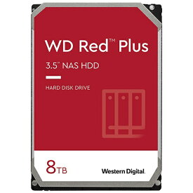 WESTERN DIGITAL ウェスタン デジタル WD80EFBX 内蔵HDD SATA接続 WD Red Plus [8TB /3.5インチ]