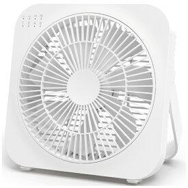 トップランド TOPLAND 卓上扇風機 どこでもFAN(どこでもファン) ホワイト SFDFB10 WT