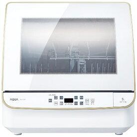 AQUA アクア 食器洗い機(送風乾燥機能付き) ホワイト ADW-GM3-W [4人用]