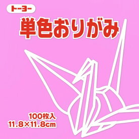 TOYO TIRES トーヨータイヤ 単色おりがみ11.8 ピンク 063124