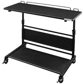 バウヒュッテ Bauhutte ロングサイドテーブル(W800xD410xH600〜800mm) ブラック BHT-800S