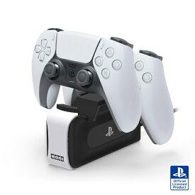 【2021年5月】 HORI ホリ DualSense ワイヤレスコントローラー専用 充電スタンドダブル for PlayStation5【PS5】