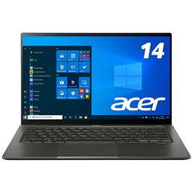 ACER エイサー SF514-55T-H56Y/GF ノートパソコン Swift 5(タッチパネル) ミストグリーン [14.0型 /intel Core i5 /SSD:512GB /メモリ:16GB /2021年4月モデル]