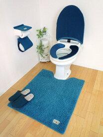 オカトー OKATO カラーモードprm ロングトイレマット ターコイズブルー