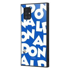 イングレム Ingrem Galaxy A51 5G /『ディズニーキャラクター』/耐衝撃ハイブリッドケース KAKU/『ドナルドダック/I AM』 イングレム IQ-DGA51K3TB/DD003