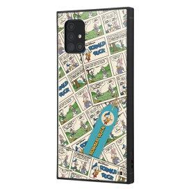 イングレム Ingrem Galaxy A51 5G /『ディズニーキャラクター』/耐衝撃ハイブリッドケース KAKU/『ドナルドダック/comic』 イングレム IQ-DGA51K3TB/DD006