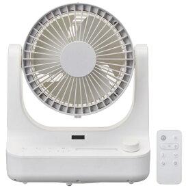ドウシシャ DOSHISHA サーキレイター ピュアホワイト FCW-180D-PWH [DCモーター搭載 /リモコン付き]