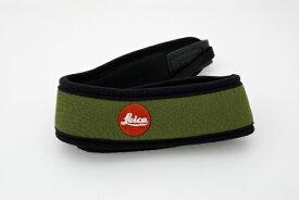 ライカ Leica 双眼鏡用ネオプレーンストラップ(オリーブグリーン)[ソウガンキョウヨウネオプレーンストラ]