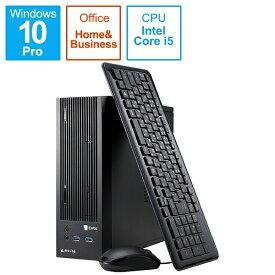 マウスコンピュータ MouseComputer ENTA-BIZ104M8S2HB-203 デスクトップパソコン Enta [モニター無し /intel Core i5 /メモリ:8GB /HDD:1TB /SSD:256GB]