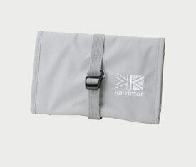KARRIMOR ロールポーチ habitat series roll pouch ハビタットシリーズ ロールポーチ(閉じた状態:H13×W21cm/開いた状態:H38×W21cm/Silver)500805-1000