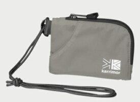 KARRIMOR 財布 ウォレット trek carry team purse トレックキャリー チームパース(H9.5×W14×D1cm/Silver)500831-1000