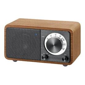 Sangean サンジーン FMラジオ対応 ブルートゥーススピーカー チェリー + ダークグレー WR-301 [Bluetooth対応]