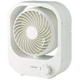 コイズミ KOIZUMI 卓上扇風機 ホワイト KLF1116W