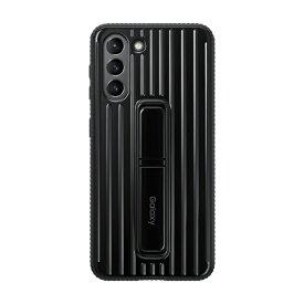 GALAXY ギャラクシー SAMSUNG サムスン 【純正】サムスン Galaxy S21用 Protective Standing Cover ブラック EF-RG991CBEGJP