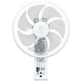 トヨトミ TOYOTOMI 壁掛け扇風機 ホワイト FWS30LRW [リモコン付き]