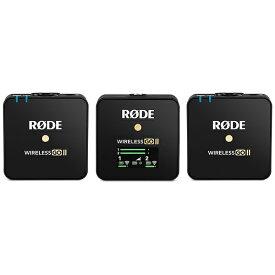 RODE ロード ワイヤレスマイクシステム Wireless GO II(ワイヤレス ゴー II) WIGOII