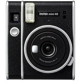 富士フイルム FUJIFILM インスタントカメラ 『チェキ』 instax mini 40 ブラック