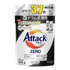 花王 Kao 【大容量】アタックZERO (ゼロ) 洗濯洗剤 液体 ドラム式専用 詰め替え 1350g アタックZERO