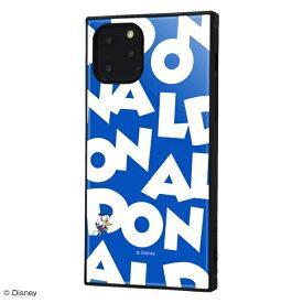 イングレム Ingrem iPhone 11 Pro 耐衝撃ハイブリッドケース KAKU 『ドナルドダック/I AM』 イングレム IQ-DP23K3TB/DD003