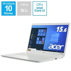 ACER エイサー A315-56-F38U/W ノートパソコン Aspire 3 パールホワイト [15.6型 /intel Core i3 /SSD:256GB /メモリ:8GB /2021年4月モデル]