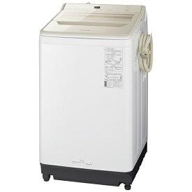 パナソニック Panasonic 全自動洗濯機 FAシリーズ シャンパン NA-FA100H9-N [洗濯10.0kg /簡易乾燥(送風機能) /上開き][洗濯機 10kg]