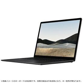 マイクロソフト Microsoft 5W6-00043 Surface Laptop 4(サーフェス ラップトップ 4) ブラック [15.0型 /AMD Ryzen 7 /SSD:512GB /メモリ:8GB /2021年4月モデル]【rb_winupg】