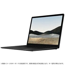 マイクロソフト Microsoft 5GB-00015 Surface Laptop 4(サーフェス ラップトップ 4) ブラック [13.5型 /intel Core i7 /SSD:1TB /メモリ:32GB /2021年4月モデル]