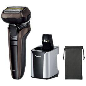 パナソニック Panasonic メンズシェーバー ラムダッシュ 茶 ES-CLV7G-T [5枚刃 /AC100V-240V]【rb_beauty_cpn】【rb_esthetic_cpn】