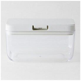 マーナ MARNA 保存容器ワイドショート ホワイト K762W