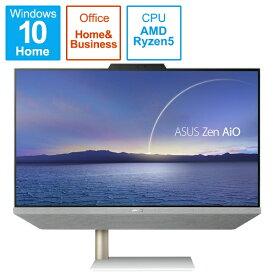 ASUS エイスース A5401W-R55500BP デスクトップパソコン Zen AiO 24 A5401 ホワイト [23.8型 /AMD Ryzen5 /HDD:1TB /メモリ:8GB /2021年4月モデル]