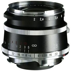 【2021年5月】 フォクトレンダー Voigtlander カメラレンズ ULTRON Vintage Line 28mm F2 Aspherical Type I [ライカM /単焦点レンズ]