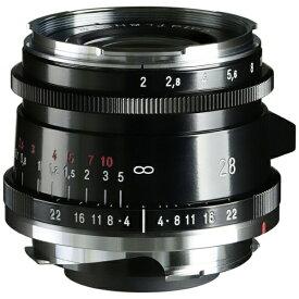 【2021年5月】 フォクトレンダー Voigtlander カメラレンズ ULTRON Vintage Line 28mm F2 Aspherical Type II VM ブラックペイント [ライカM /単焦点レンズ]