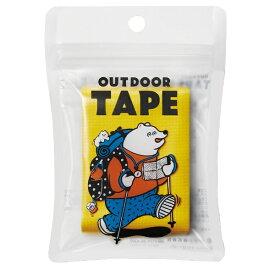 ヤマト 〔布テープ〕 アウトドアテープ イエロー OD-YEL