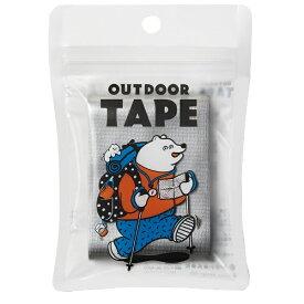 ヤマト 〔布テープ〕 アウトドアテープ シルバー OD-SIL
