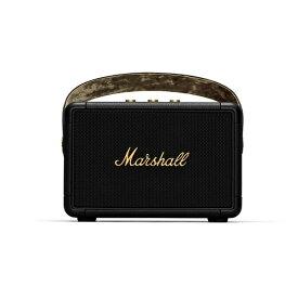 Marshall マーシャル ブルートゥース スピーカー ブラック&ブラス KILBURNII-BLACK-AND-BRASS [Bluetooth対応]