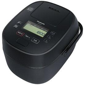 【2021年07月01日発売】 パナソニック Panasonic 炊飯器 ブラック SR-MPA101-K [圧力IH /5.5合]