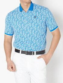 ブリヂストン BRIDGESTONE メンズ 半袖ポロシャツ(Lサイズ/ブルー) TGM03A