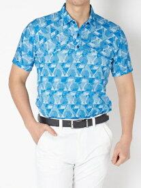 ブリヂストン BRIDGESTONE メンズ 半袖シャツ(Lサイズ/ブルー) TGM06A
