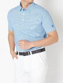 ブリヂストン BRIDGESTONE メンズ 半袖シャツ(Lサイズ/ブルー) 3GT01A