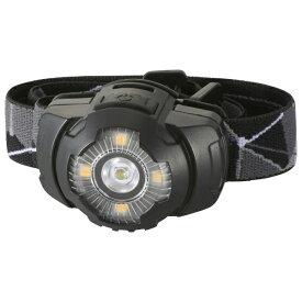 オーム電機 OHM ELECTRIC LEDヘッドライト ブラック LC-S20A7