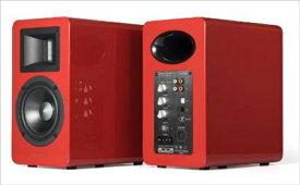 AIR PULSE エアープラス DAC内蔵アクティブスピーカー レッドハイグロス A100BT5.0RDHG [ハイレゾ対応 /Bluetooth対応]