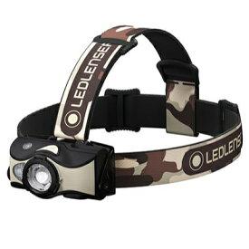 レッドレンザー Ledlenser アウトドア ヘッドライト MH8(502157/ブラック×サンド)43103