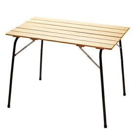 ハイマウント HIGHMOUNT CASTELMERLINO ハイ&ローキャンパーテーブル 100×60100×60×H70cm-35cm/ブラック 20059