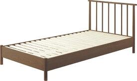 東谷 AZUMAYA シングルすのこベッド(ブラウン/W110×D203×H85×SH28cm) B31BR【キャンセル・返品不可】 【代金引換配送不可】