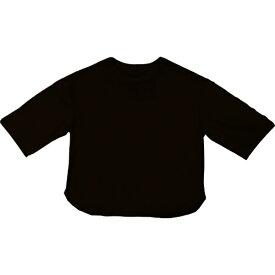 SHELTECH シェルテック レディース 5分丈 スリーブシャツ(Fサイズ/ブラック) SHL003L