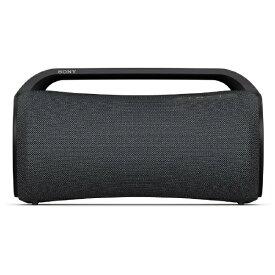 【2021年05月28日発売】 ソニー SONY ブルートゥーススピーカー ブラック SRS-XG500 BC [Bluetooth対応 /防水]
